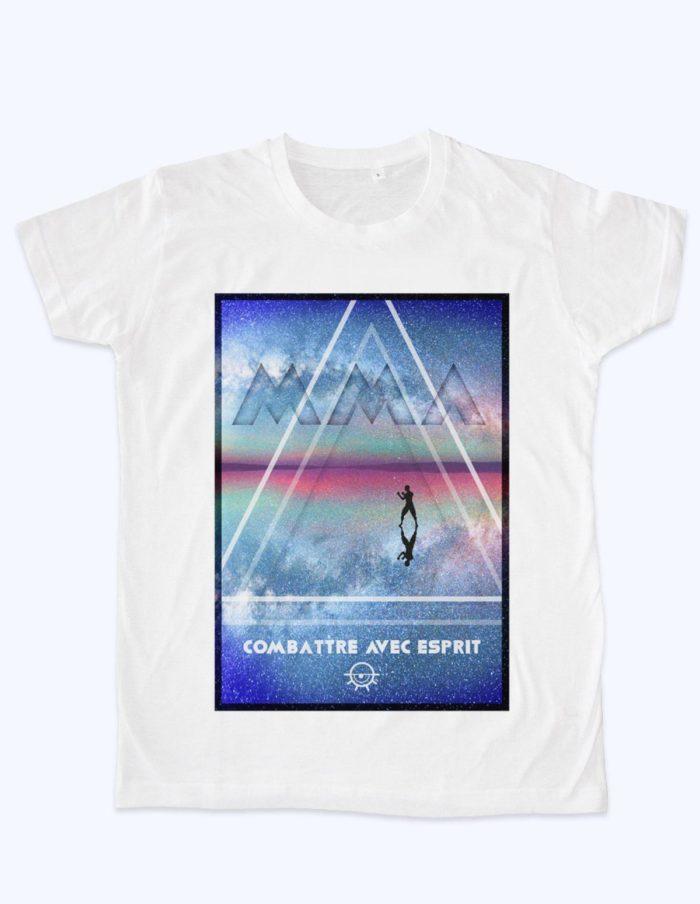 combattre esprit 700x904 - T-shirt Combattre avec esprit !