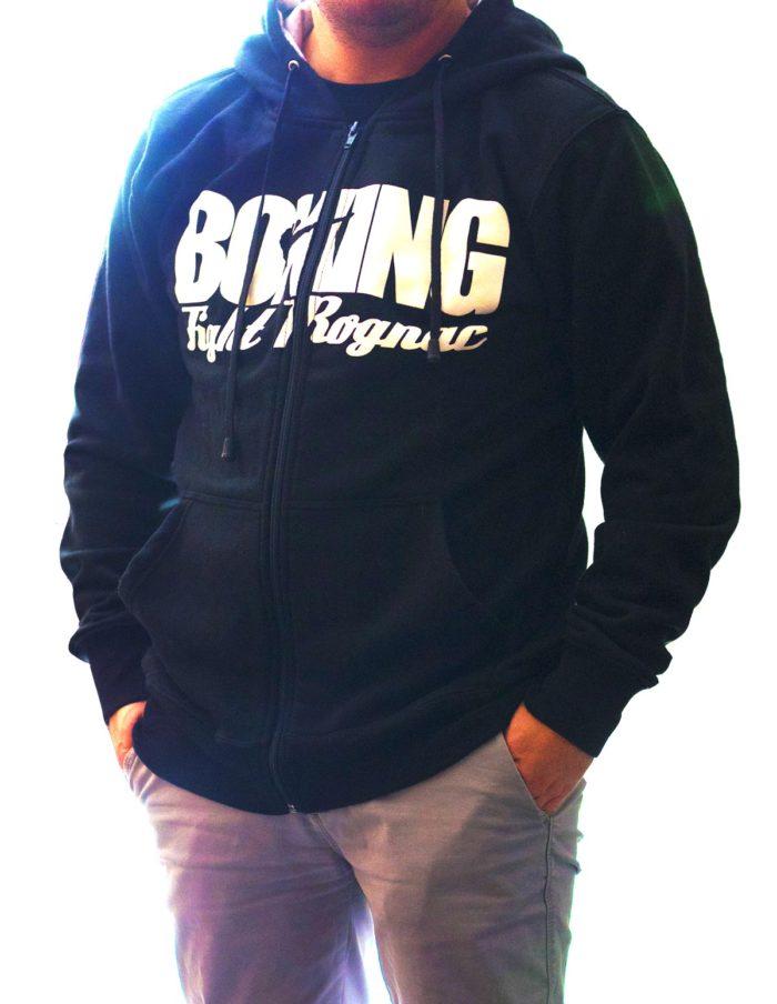 MES veste 3 4 boxe 700x904 - Veste noire à capuche - Boxing Fight