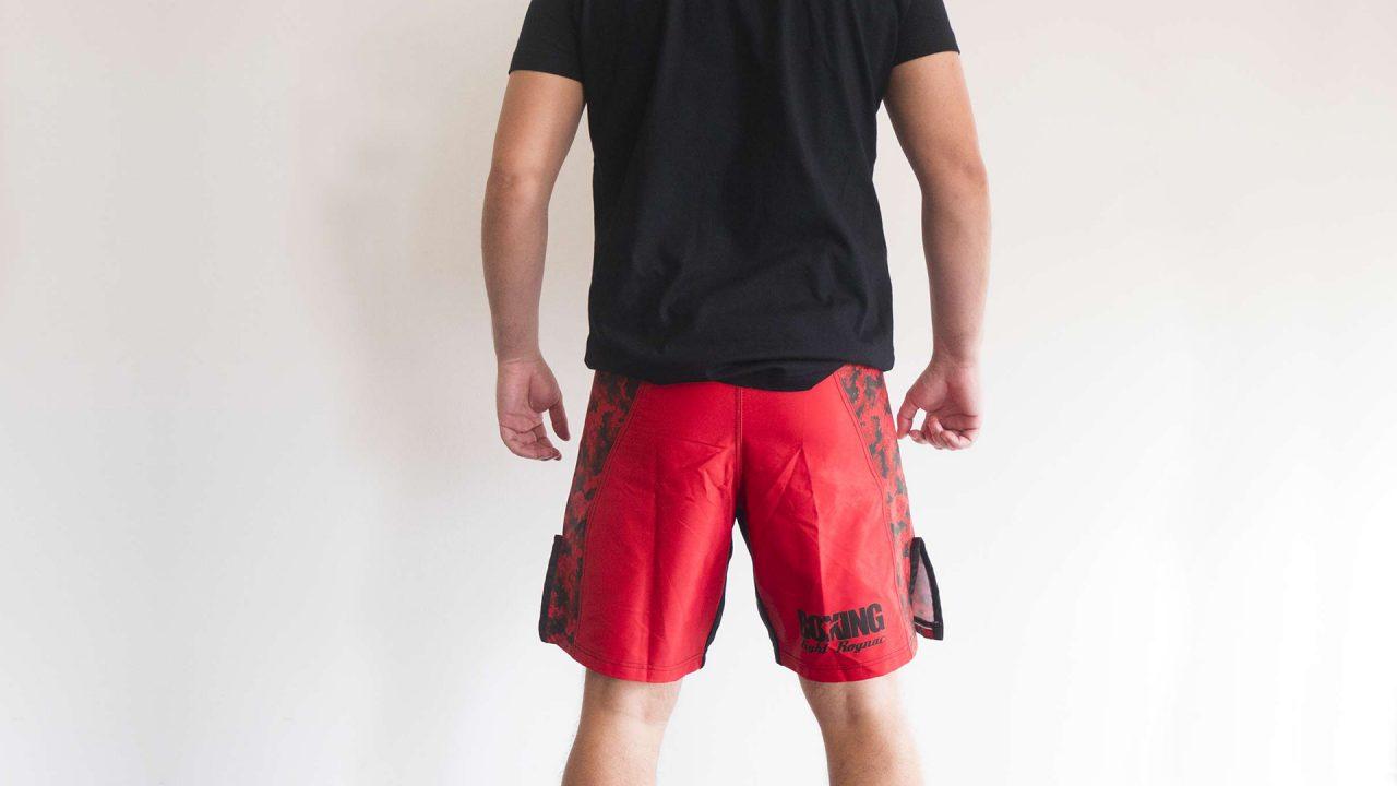 vue de dos du design de la tenue Boxing Fight Rognac