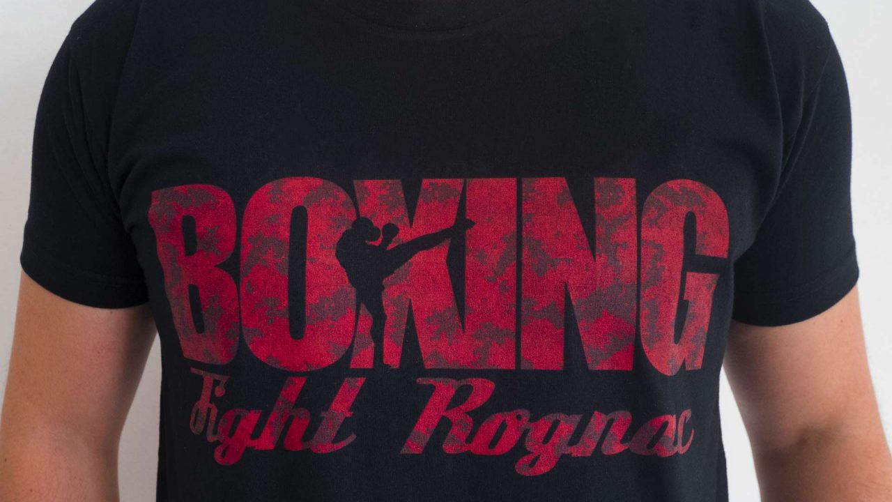 design t shirt Boxing Fight Rognac