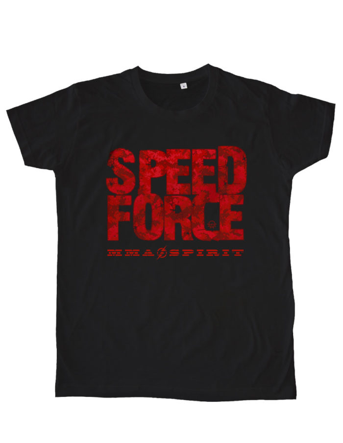 MES noir speed force 2think 700x904 - T-shirt noir Speed Force