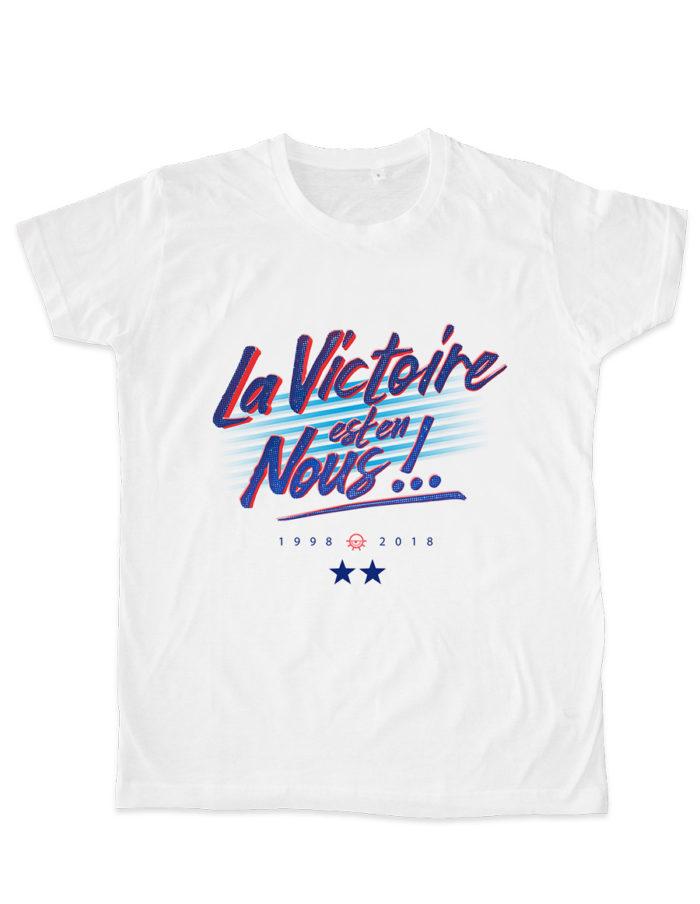 MES plat blanc lavictoireestennous 700x904 - T-shirt blanc La victoire est en nous