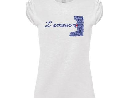 Tshirt blanc manches plissees lamour 400x320 - Accueil